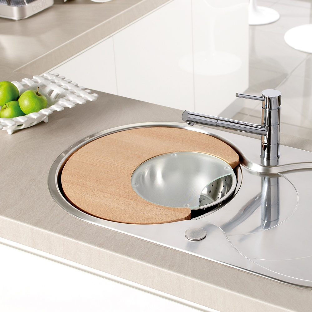 Kitchen Sink Attachments : ... ? Astracast Cascade 1.0 Bowl 3pc Kitchen Sink Accessories Set