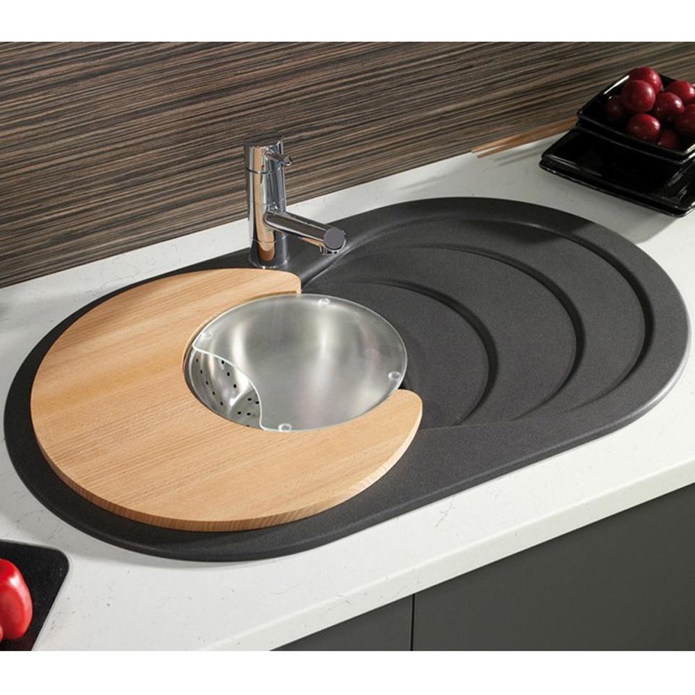 Astracast Cascade 1 0 Bowl Asterite Granite Italian Black