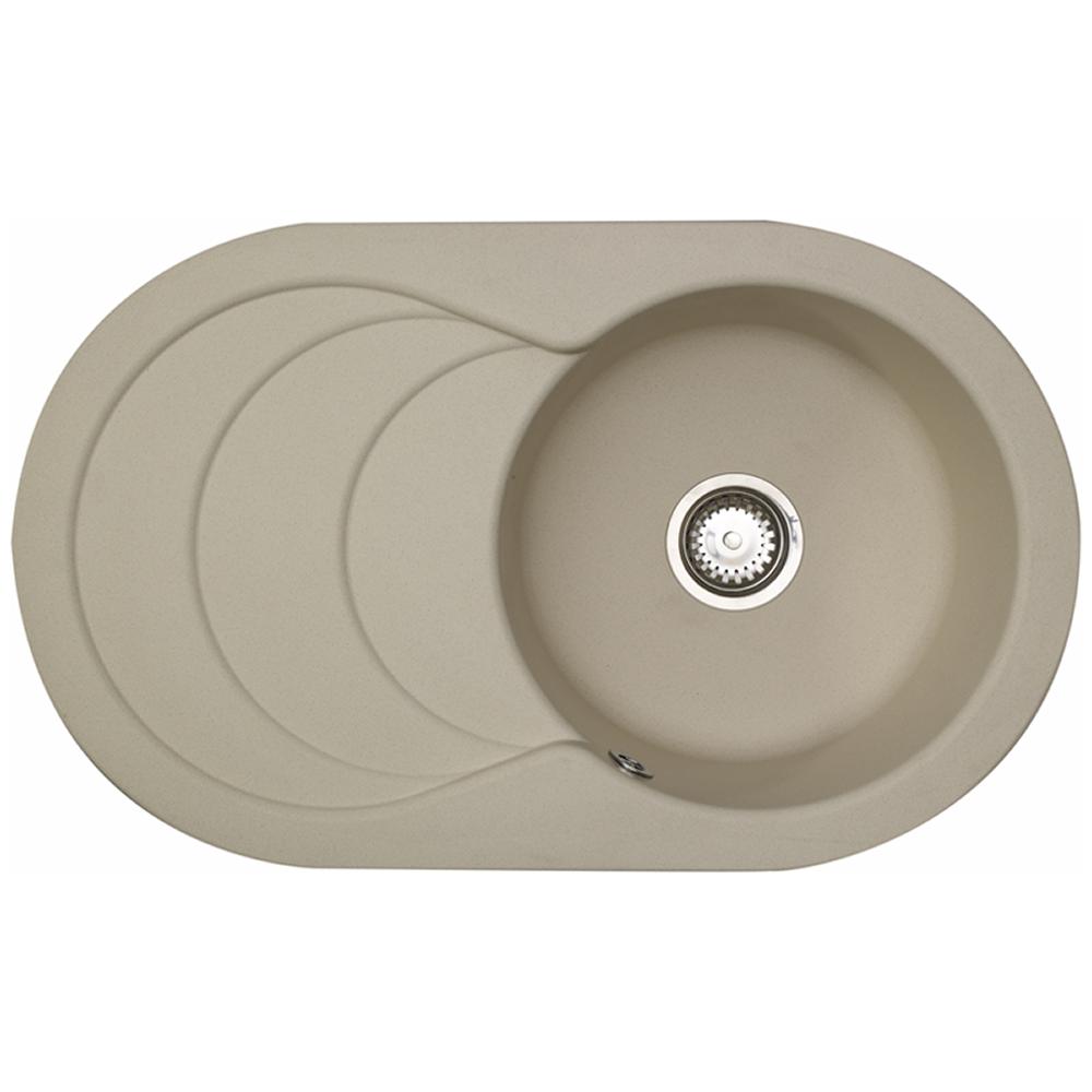 Rok Granite Sinks : Astracast Cascade 1.0 Bowl ROK Granite Sahara Beige Kitchen Sink ...