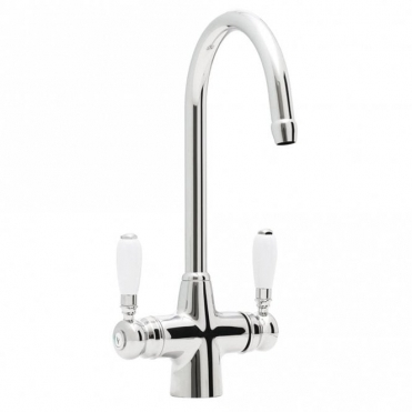 Astracast Colonial Springflow Chrome Kitchen Sink Mixer Tap TP0415