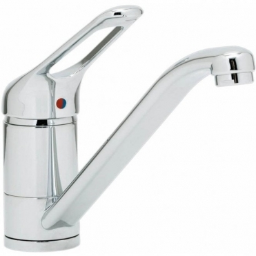 Astracast Finesse Chrome Single Lever Kitchen Sink Filterflow Mixer Tap TP0474