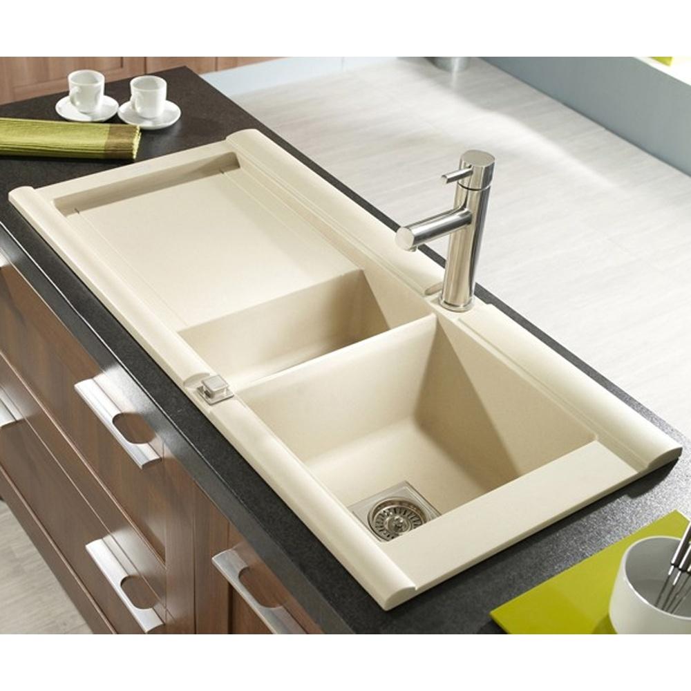 Granite kitchen sinks uk cda 1 0 bowl black granite kitchen sink astracast geo 1 5 bowl rok granite sahara beige kitchen workwithnaturefo