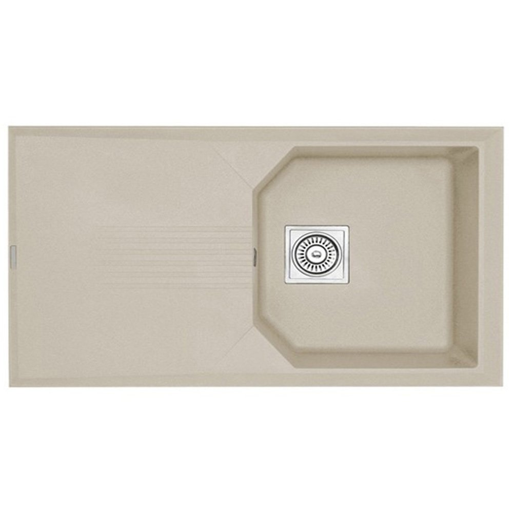 Rok Granite Sinks : Astracast Helix Compact 1.0 Bowl ROK Granite Sahara Beige Kitchen Sink ...