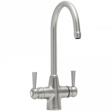 Astracast Jordan Springflow Brushed Steel Kitchen Sink Water Filter Mixer Tap TP0441