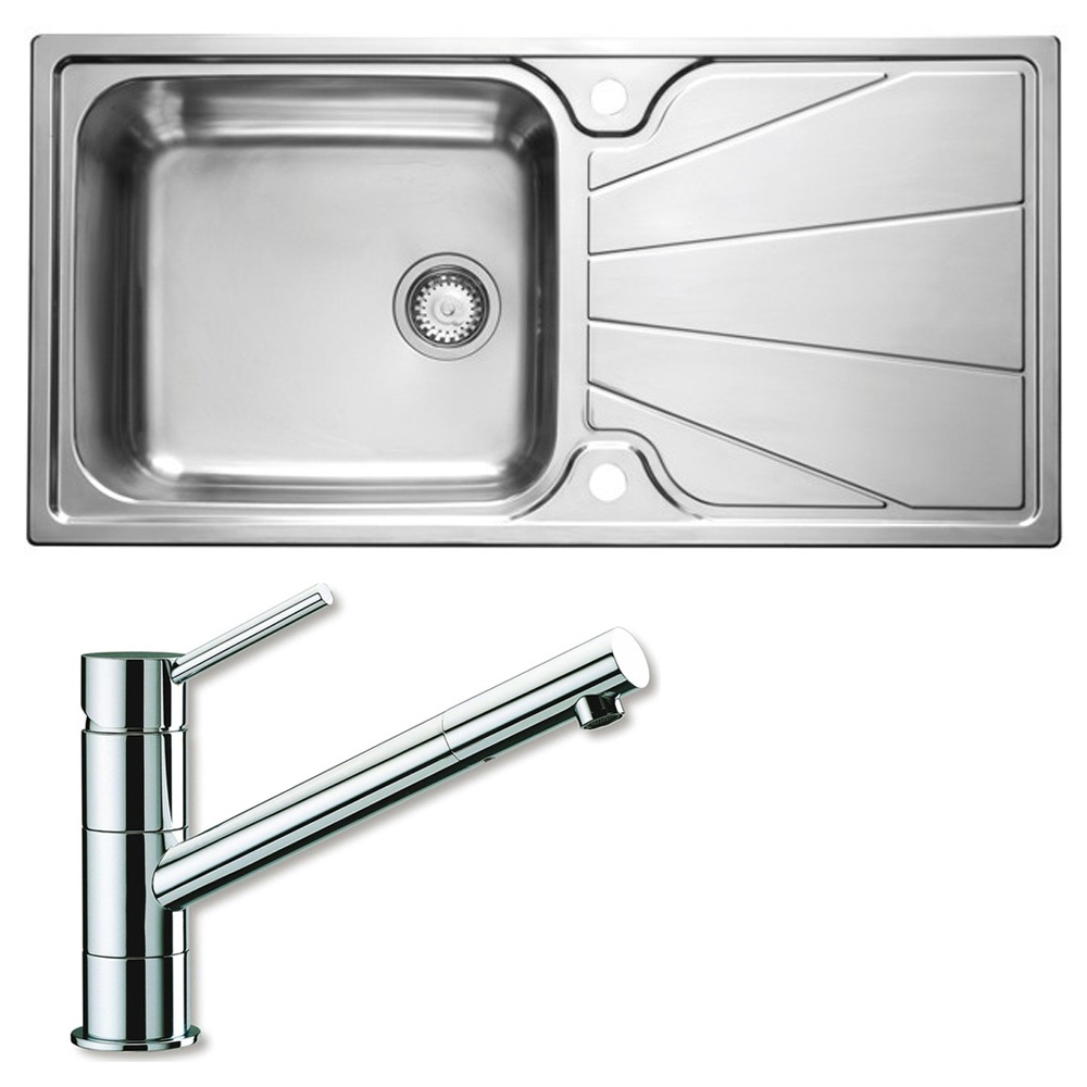 astracast korona 1 0 bowl polished stainless steel kitchen