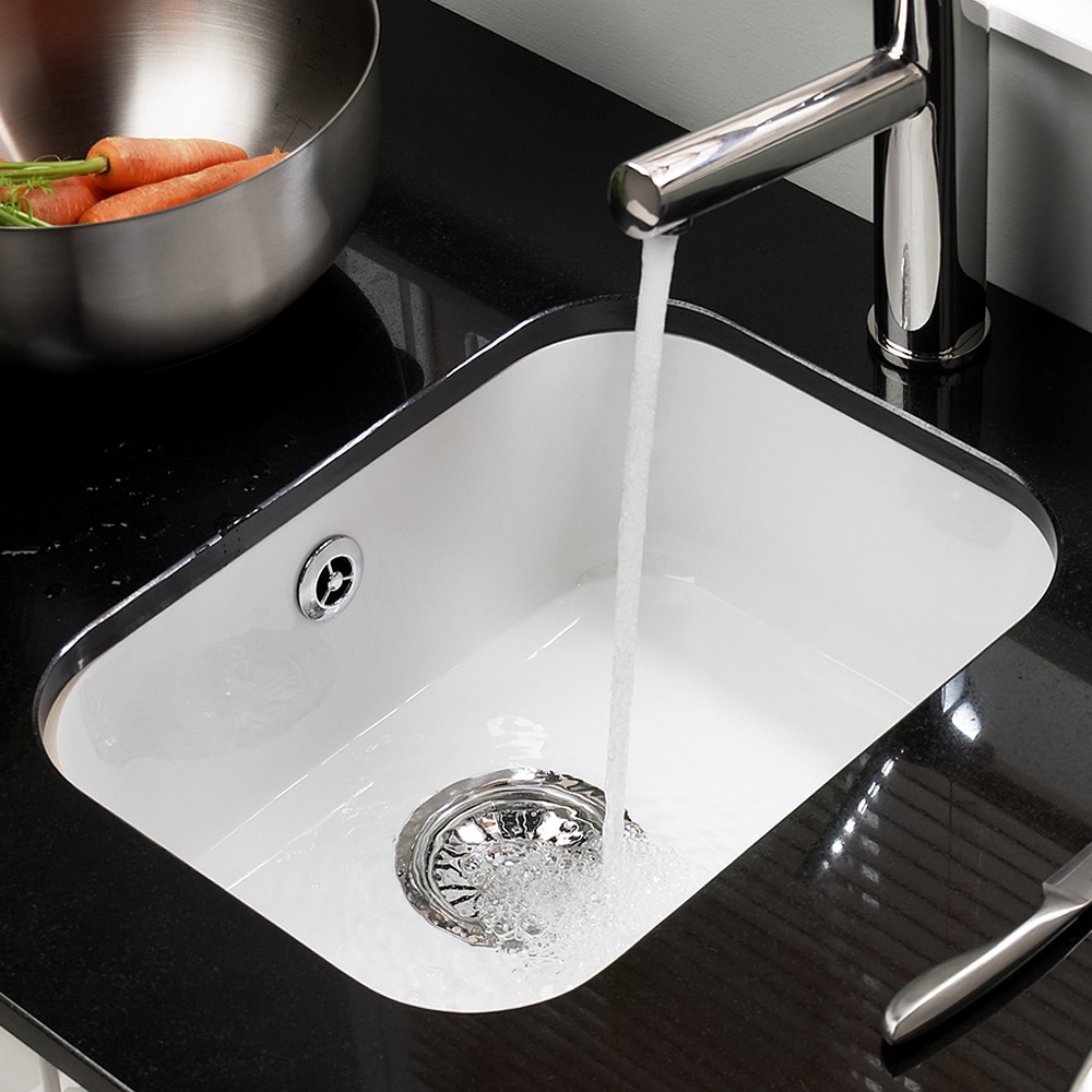 White Ceramic Undermount Kitchen Sinks ~ NavTeo.com : The best and ...