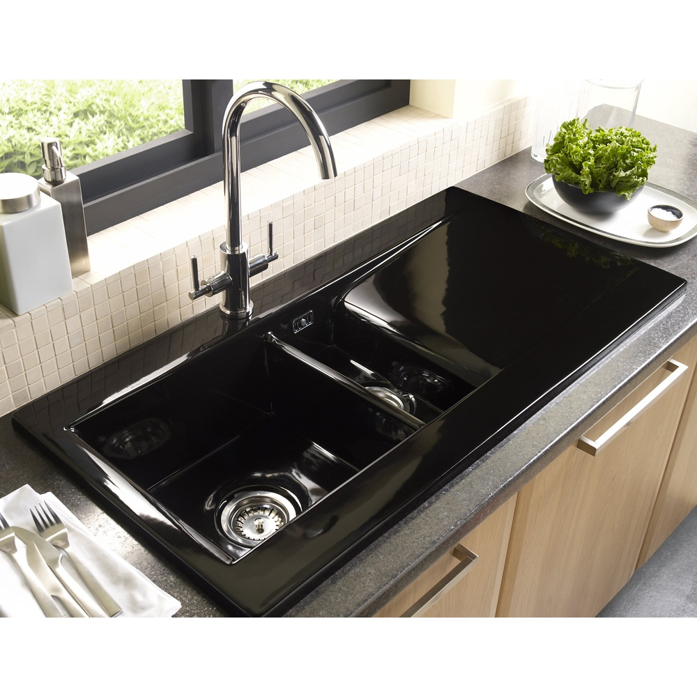 ... Bowl Ceramic Sinks ? View All Astracast 1.5 Bowl Ceramic Sinks