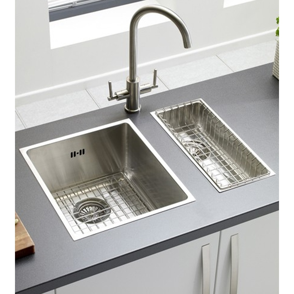 Astracast yx 4016 0 5 Bowl Brushed Stainless Steel