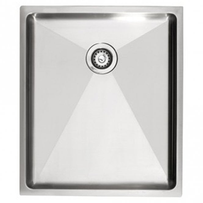 Astracast Onyx 4034D Brushed Stainless Steel Undermount Kitchen Sink ...