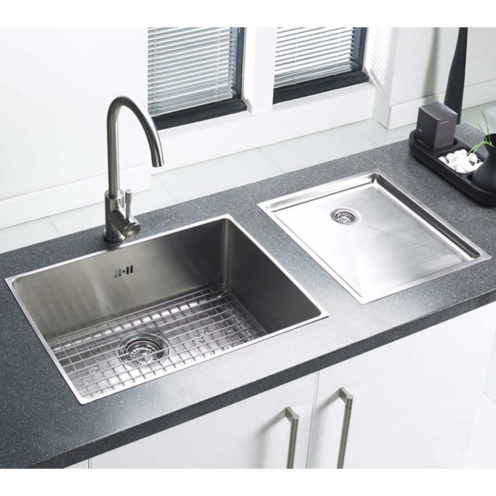 Single bowl double drainer stainless steel sink - Small Kitchen Sink No Drainer Best Ideas 2017