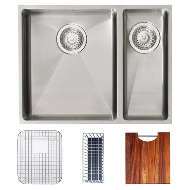 Astracast Onyx 4053 1.5 Bowl Stainless Steel Kitchen Sink ...