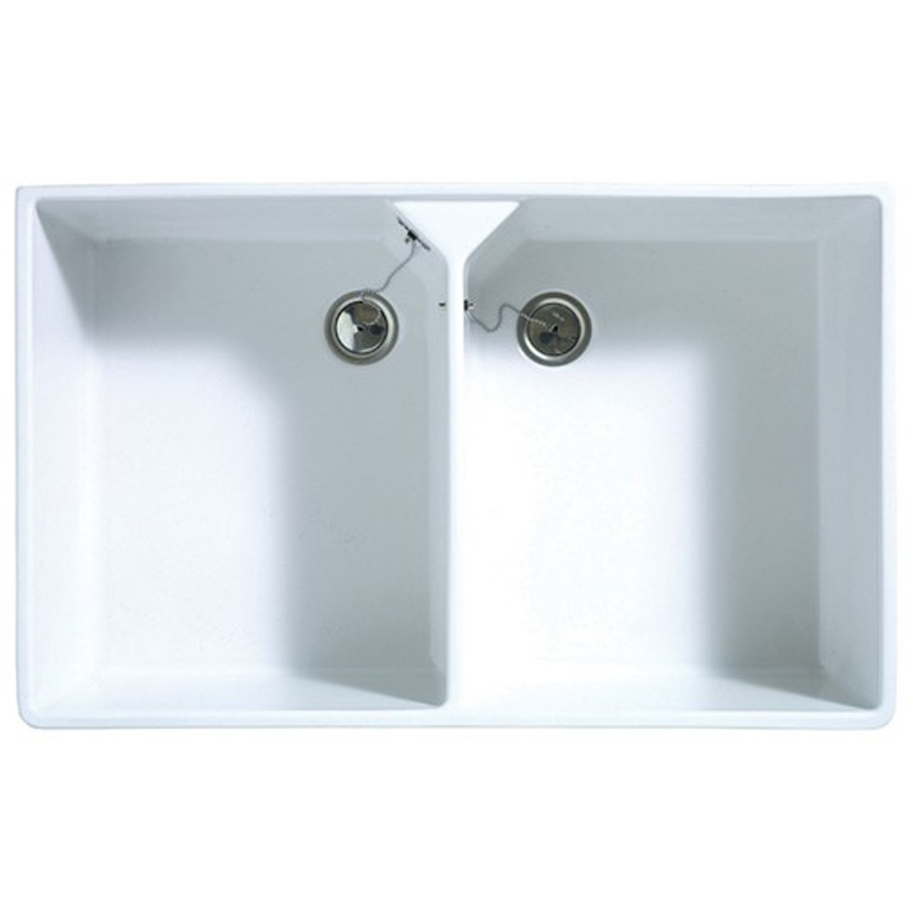 Astracast Sudbury 2.0 Bowl Gloss White Ceramic Kitchen Sink ...