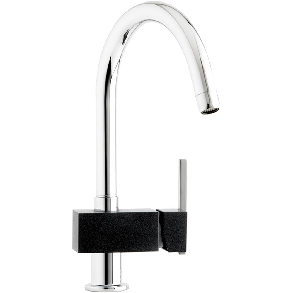 Astracast Tybers Black Chrome Kitchen Sink Mixer Tap