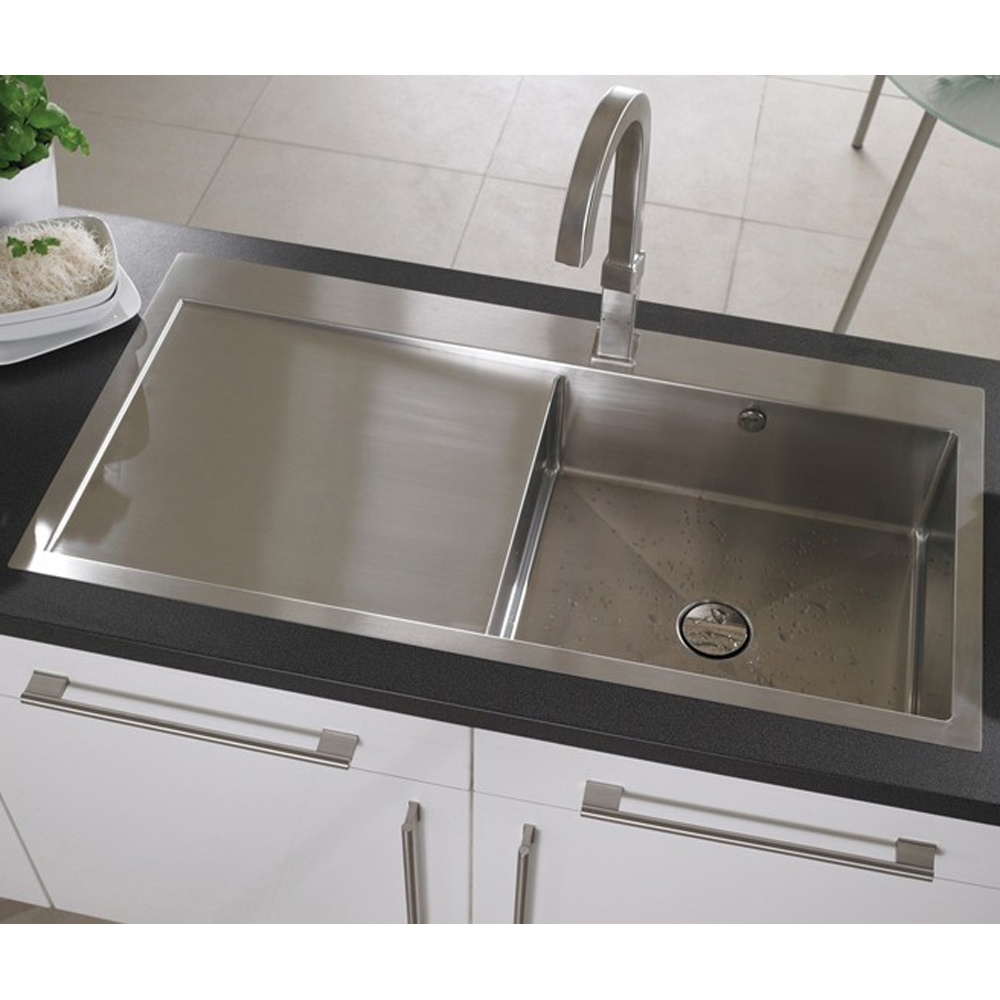 ... Brushed Stainless Steel Kitchen Sink & Accessories LHD VN10XBHOMEPKL5