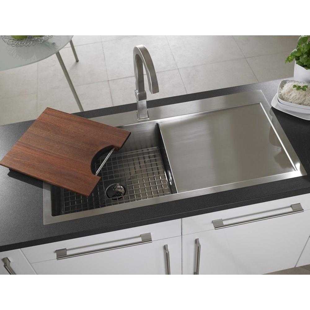 ... Brushed Stainless Steel Kitchen Sink & Accessories RHD VN10XBHOMEPKR5