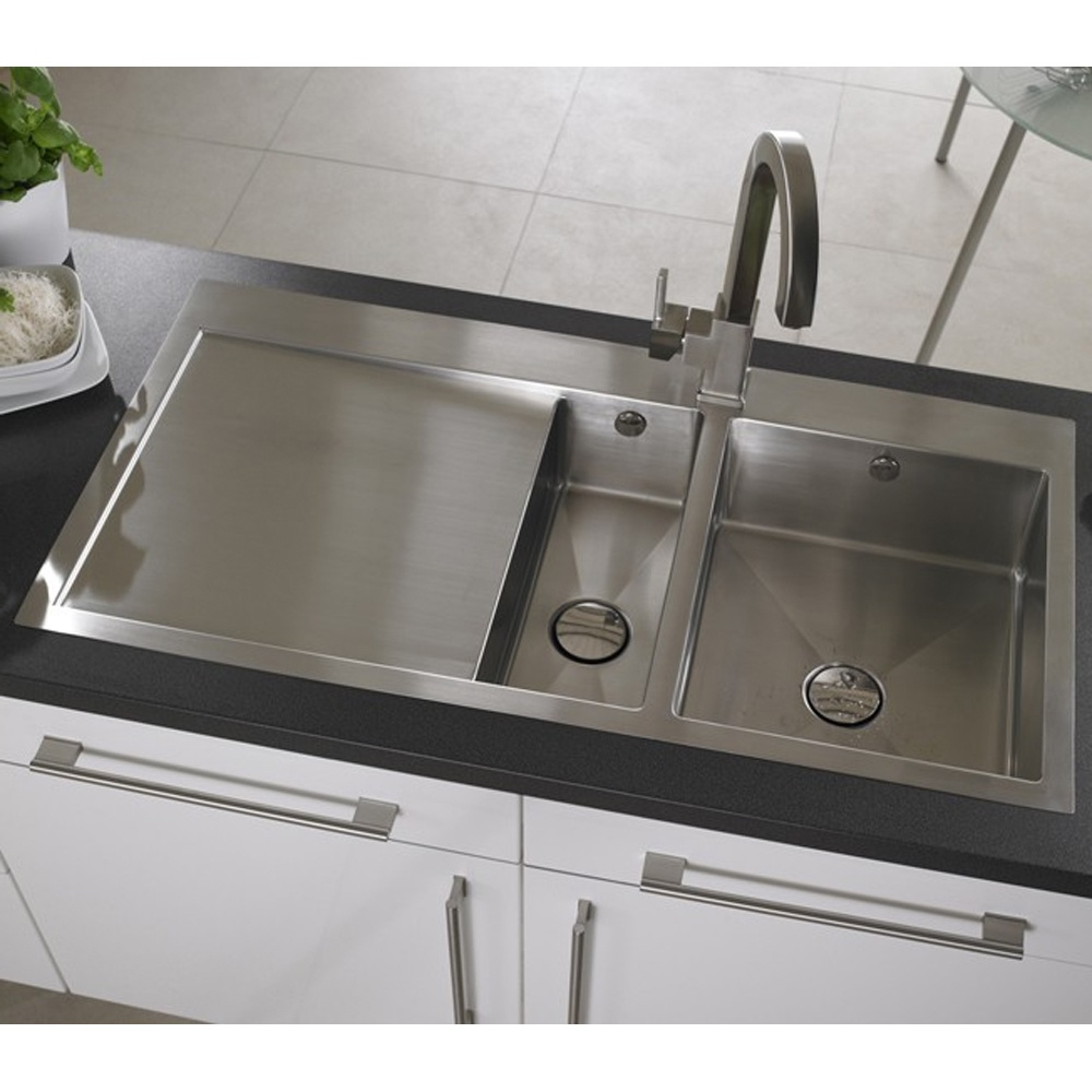 Brushed Stainless Steel Sinks Kitchen : ... ? View All 1.5 Bowl Sinks ? View All Astracast 1.5 Bowl Sinks
