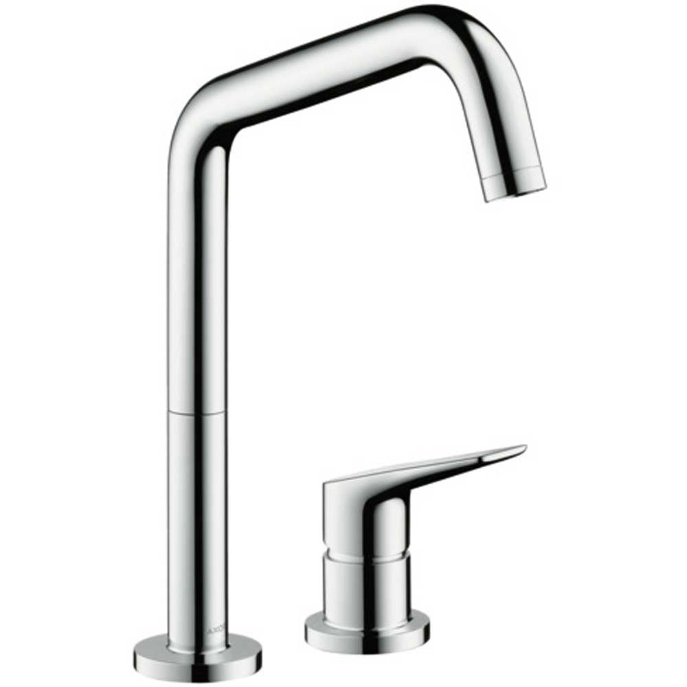 Axor Citterio 2 Hole Chrome Single Lever Kitchen Sink Mixer Tap 34823000 Single Lever Taps From Taps Uk