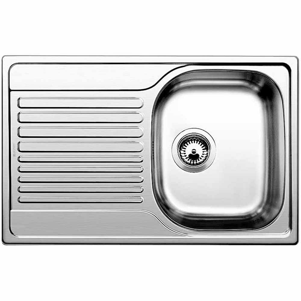 tipo 45s 1 0 bowl stainless steel kitchen sink blanco from taps uk