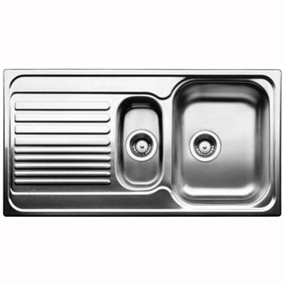 Blanco Tipo 6S 1.5 Bowl Stainless Steel Kitchen Sink - Blanco from ...