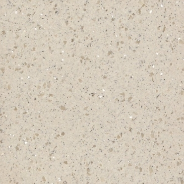 Bushboard Encore 2400x45x5mm Pearl Grey Solid Surface Edging Strip