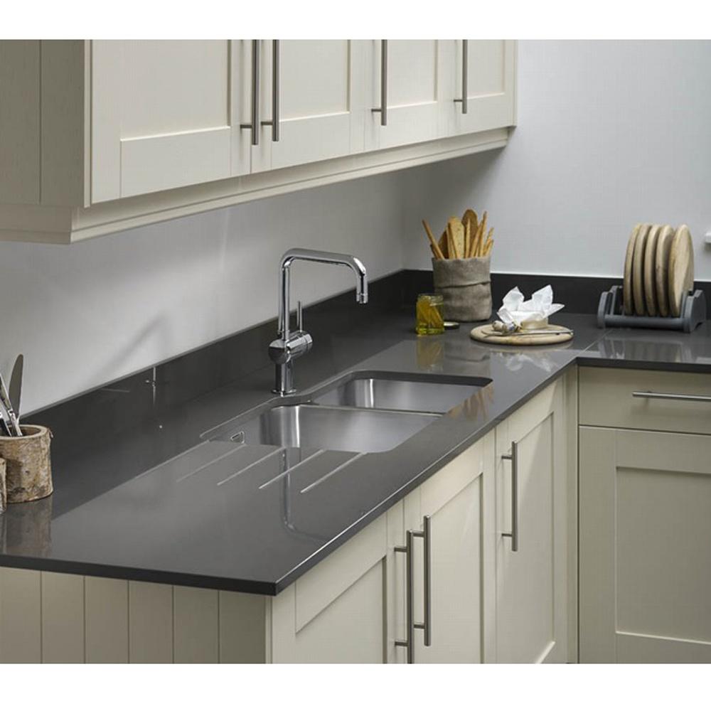 Grey Stone Kitchen Worktops : ... stone 1500 X 650 X 20mm Quartz Pewter Stone Slate Grey Kitchen Worktop
