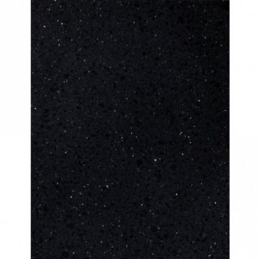 Bushboard M-Stone 1500x650x20mm Quartz Black Gem Stone Worktop