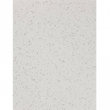 Bushboard M-Stone 3050x100x12mm Quartz White Gem Stone Upstand