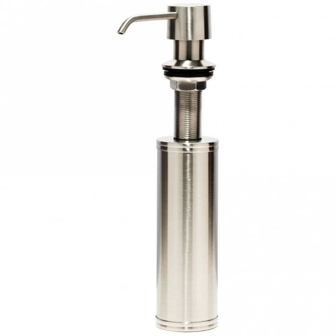 Caple Chrome Stainless Steel Kitchen Sink Soap Dispenser Csdss
