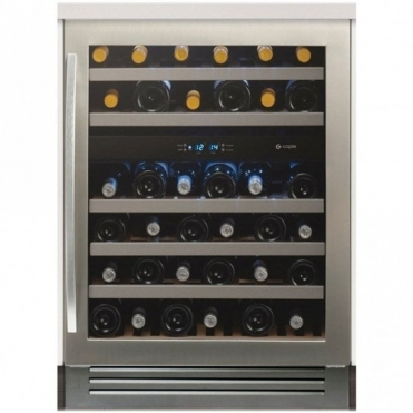 Caple Classic Slot In Under Counter Double Zone Wine Cabinet WI6125