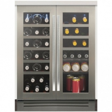 Caple Classic Slot In Under Counter Double Zone Wine Cabinet WI6224