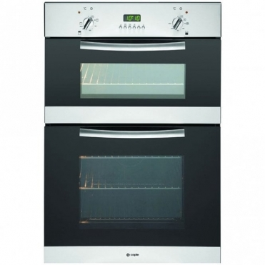 Caple Classic Stainless Steel And Glass Electric Double Oven C3242