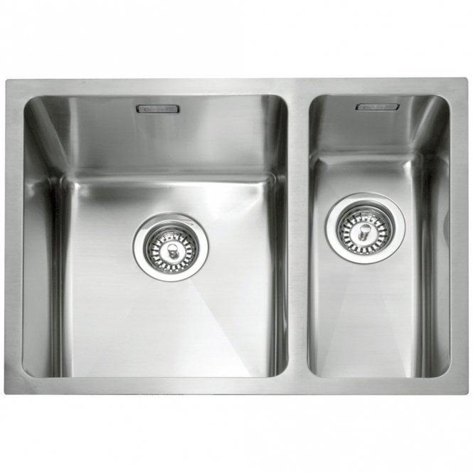 1.5 Bowl Kitchen Sink Caple mode 15 bowl stainless steel kitchen sink rh mode150r caple caple mode 15 bowl stainless steel kitchen sink rh mode150r workwithnaturefo