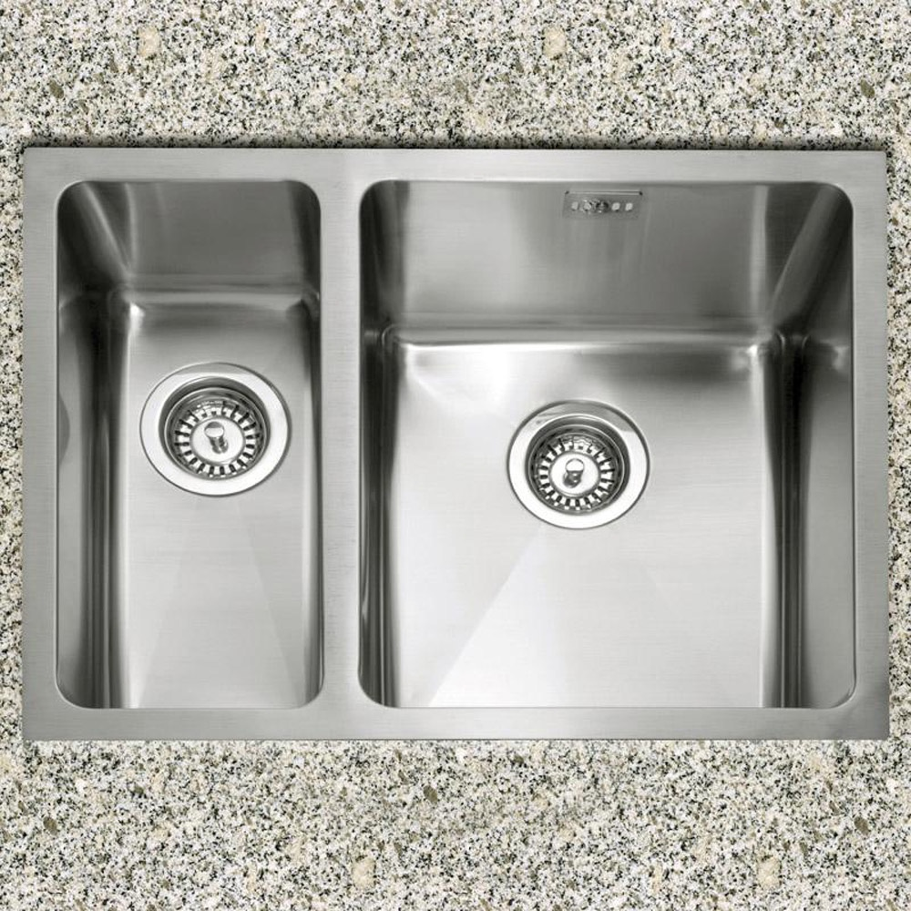 shallow undermount kitchen sink -  caple mode   bowl stainless steel undermount kitchen sink lhmodel