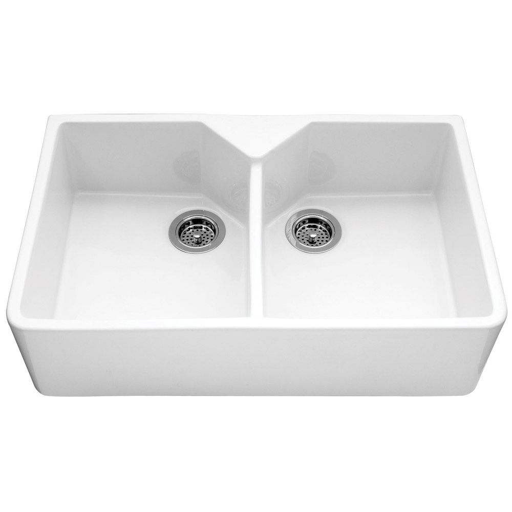 ... Double Bowl Ceramic Sinks ? View All Caple Double Bowl Ceramic Sinks