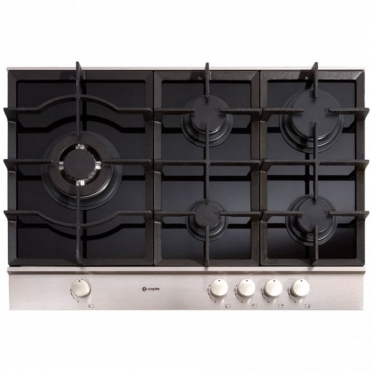 Caple Sence Black Glass Gas Kitchen Hob C759G