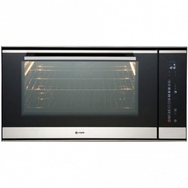 Caple Sense Stainless Steel And Black Glass Electric Single Oven C2900