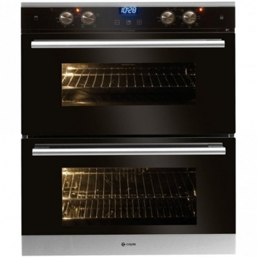 Caple Sense Stainless Steel Electric Built Under Dual Kitchen Oven C4360SS