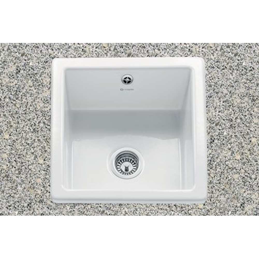 ... Single Bowl Ceramic Sinks ? View All Caple Single Bowl Ceramic Sinks