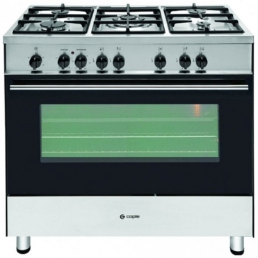 Caple Stainless Steel Dual Fuel Single Cavity Range Cooker CR9105