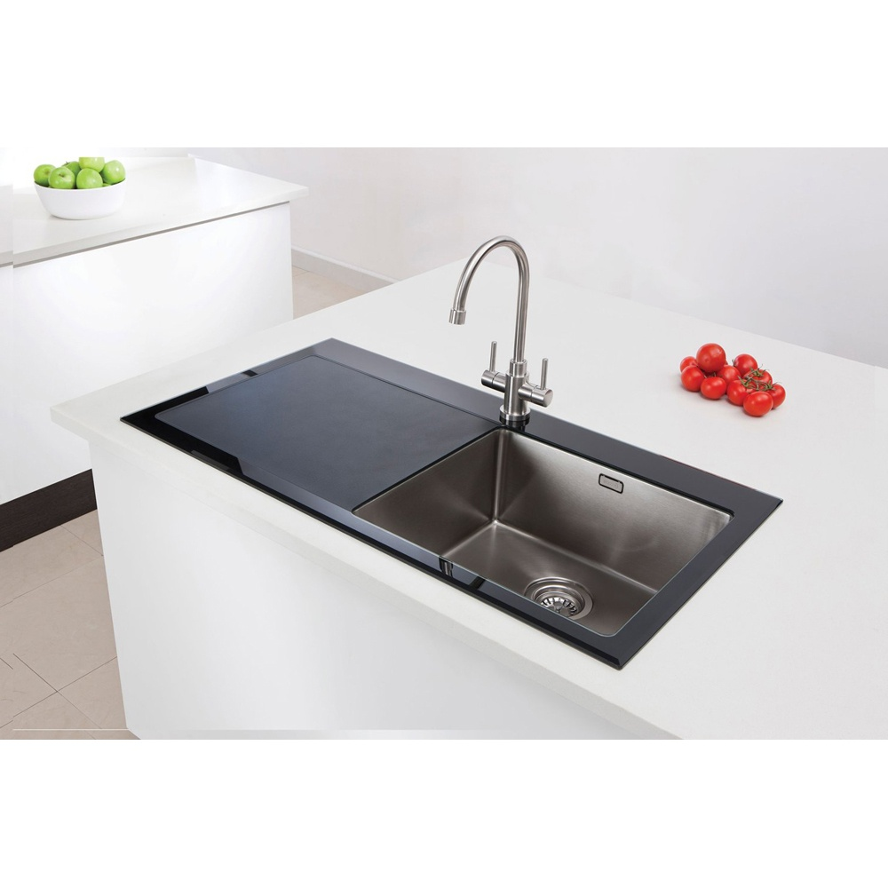 Black Stainless Steel Sink : ... Caple ? View All 1.0 Bowl Sinks ? View All Caple 1.0 Bowl Sinks