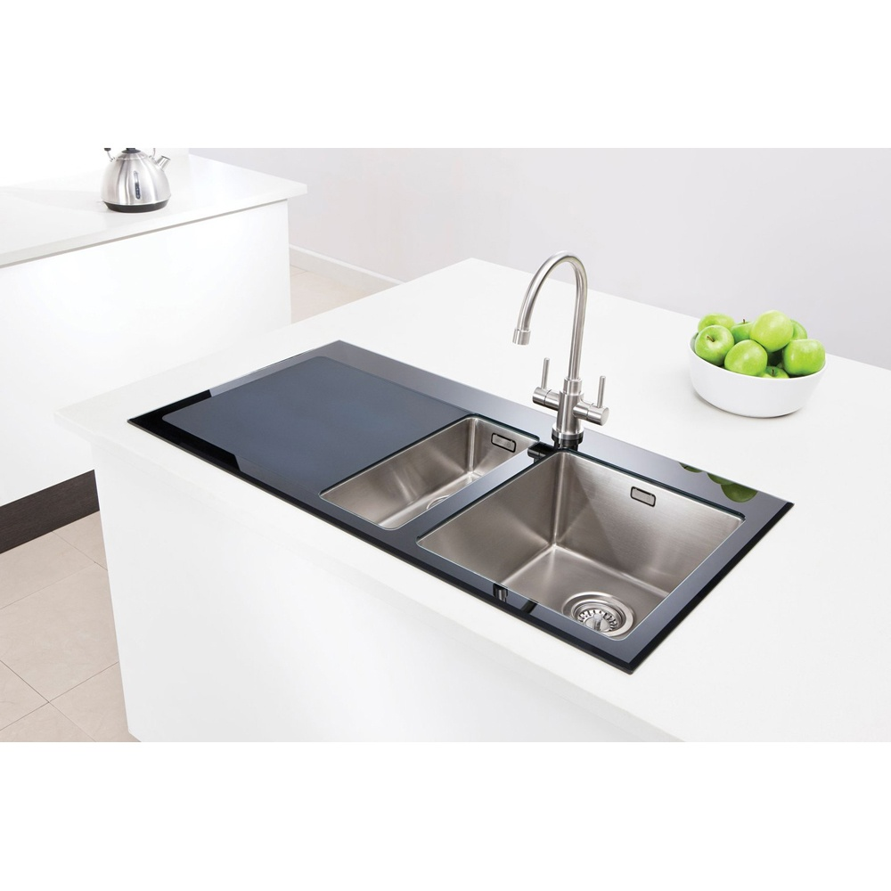 ... Caple ‹ View All 1.5 Bowl Sinks ‹ View All Caple 1.5 Bowl Sinks