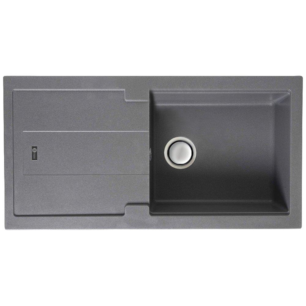 carron phoenix bali 105 10 bowl granite stone grey kitchen sink waste 1140055863 p17313 131956 zoom