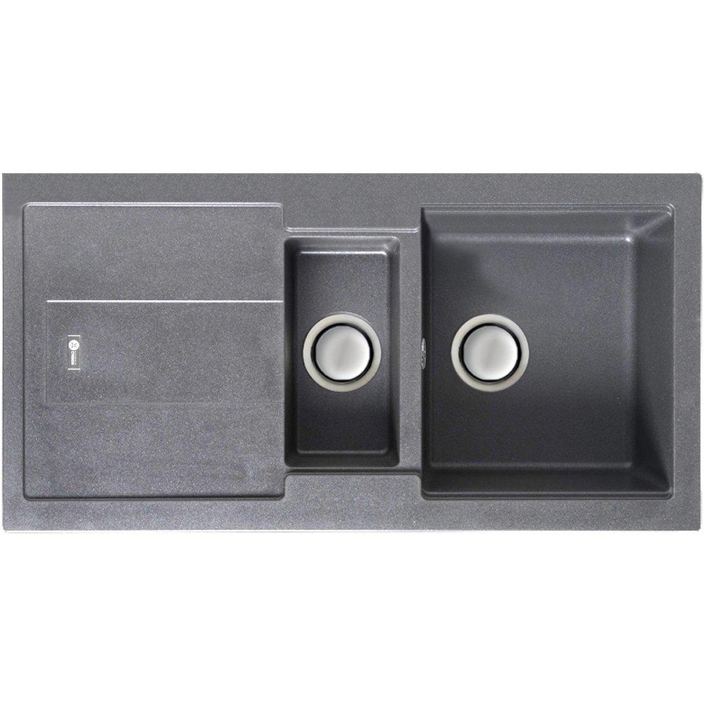 carron phoenix bali 150 15 bowl granite stone kitchen sink waste 1140055865 p17314 131806 zoom