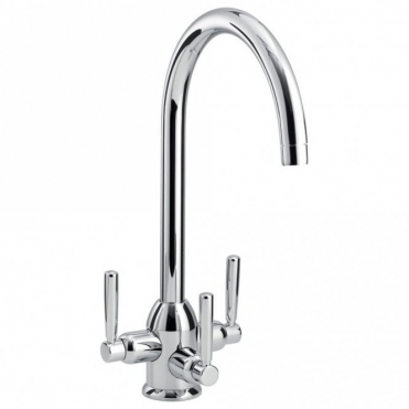 Carron Phoenix Dante Tri Pure Tri Lever Brushed Nickel Filter Tap 120.0193.062
