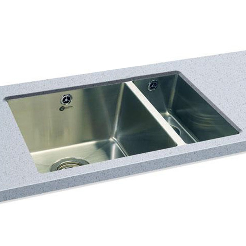 Carron Phoenix Deca 150 1.5 Polished Stainless Steel Undermount ...