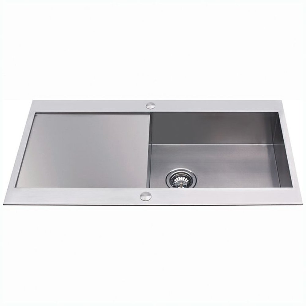 cda 1 0 bowl stainless steel designer kitchen sink kva11ss kitchen sinks stainless steel the homy design