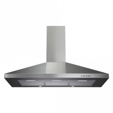CDA 100cm Chimney Extractor Hood - Stainless Steel ECH101SS