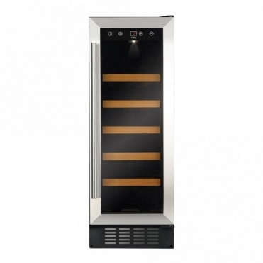 CDA 300 Mm Freestanding Under Counter Wine Cooler-stainless Steel FWC303SS