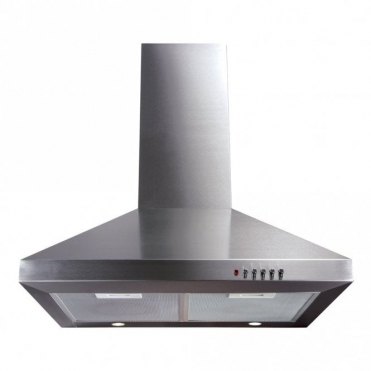 CDA 60cm Chimney Extractor Hood - Stainless Steel ECH61SS