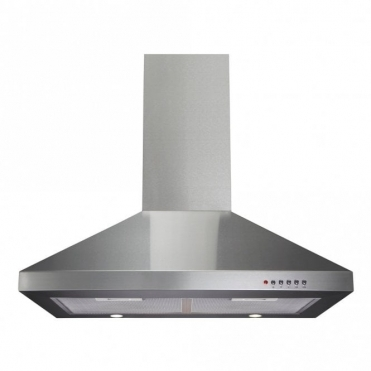 CDA 70cm Chimney Extractor Hood - Stainless Steel ECH71SS